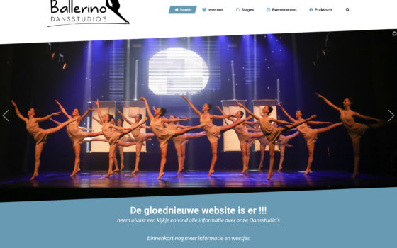 Gloednieuwe website is er !!!