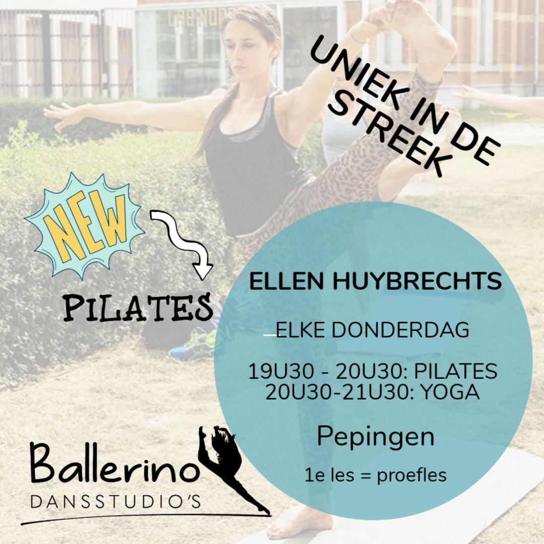 PILATES – UNIEK IN DE STREEK!