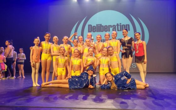 RESULTATEN DANCE WAVES DIEST