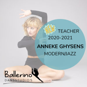 NEW TEACHER – MODERN JAZZ