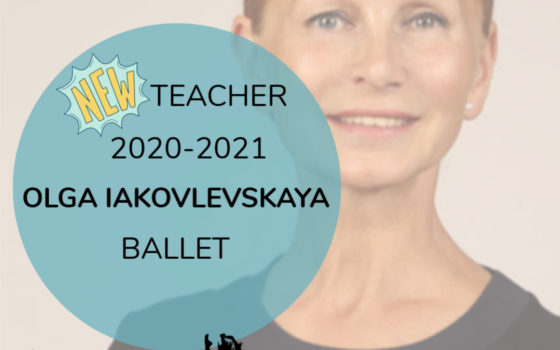 NEW TEACHER – BALLET