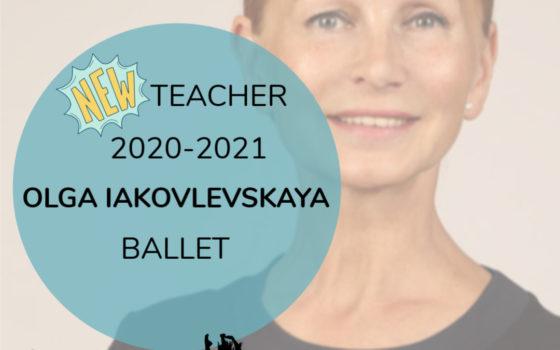 NEW TEACHER – BALLET