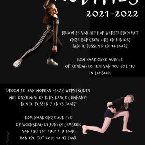 AUDITIES B2D & CREWS 2021-2022